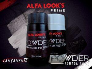 Pomada em Pó Black Alfa Look's Prime