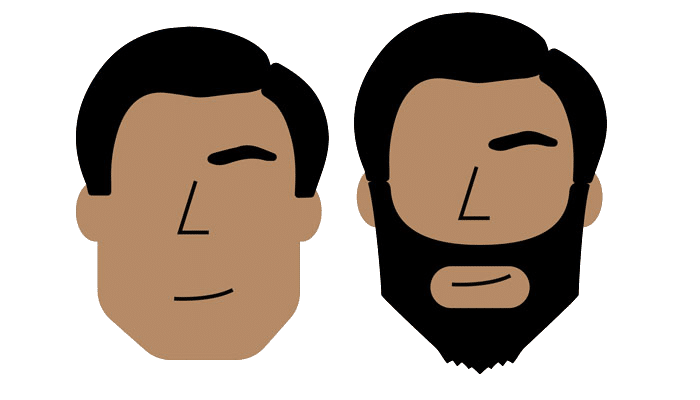 Estilo de Barba Ideal Rosto Quadrado