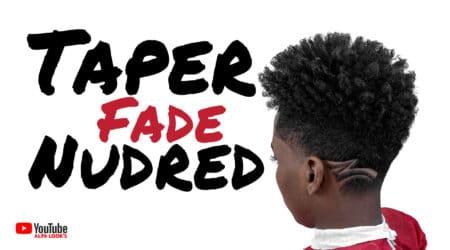 Taper Fade com Nudred